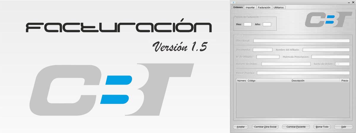 Soft CBT-Facturación Versión 1.5