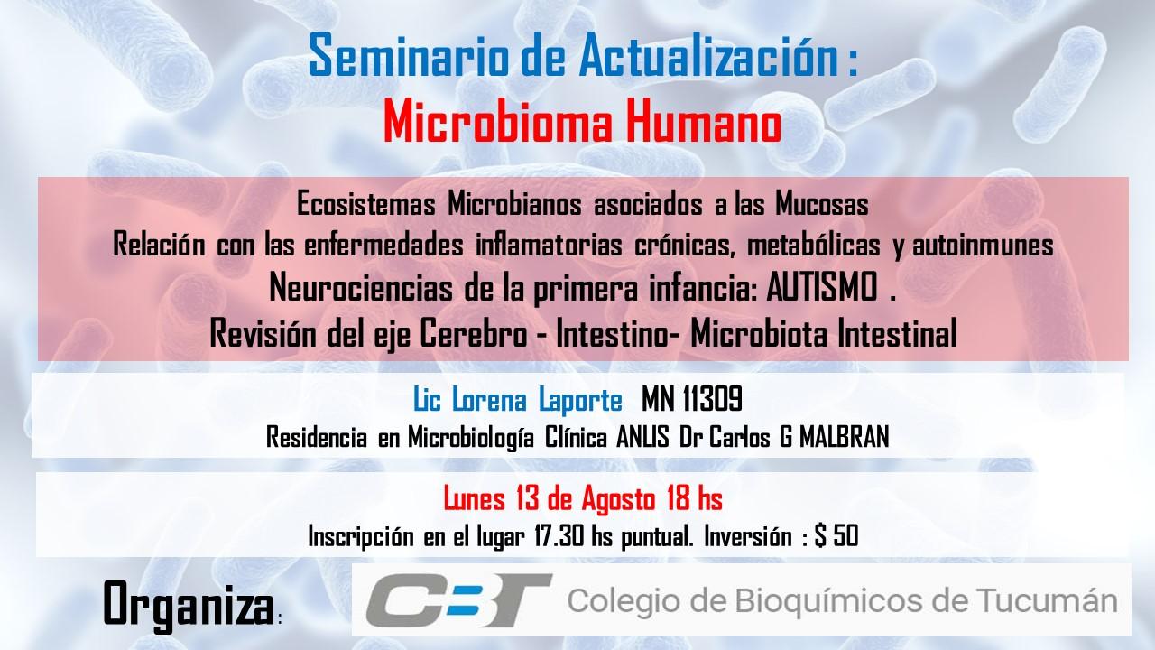 Seminario de Actualización: Microbioma Humano