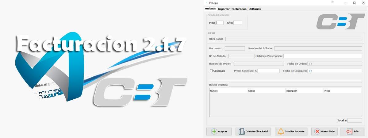 Soft CBT-Facturación Versión 2.1.7