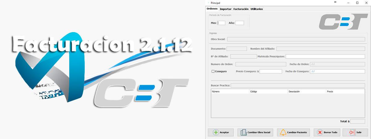 Soft CBT-Facturación Versión 2.1.12
